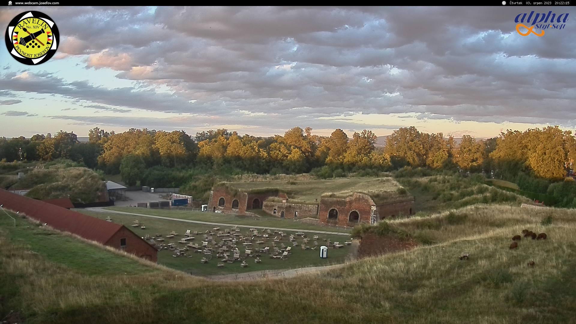 Webkamera Pevnost Josefov